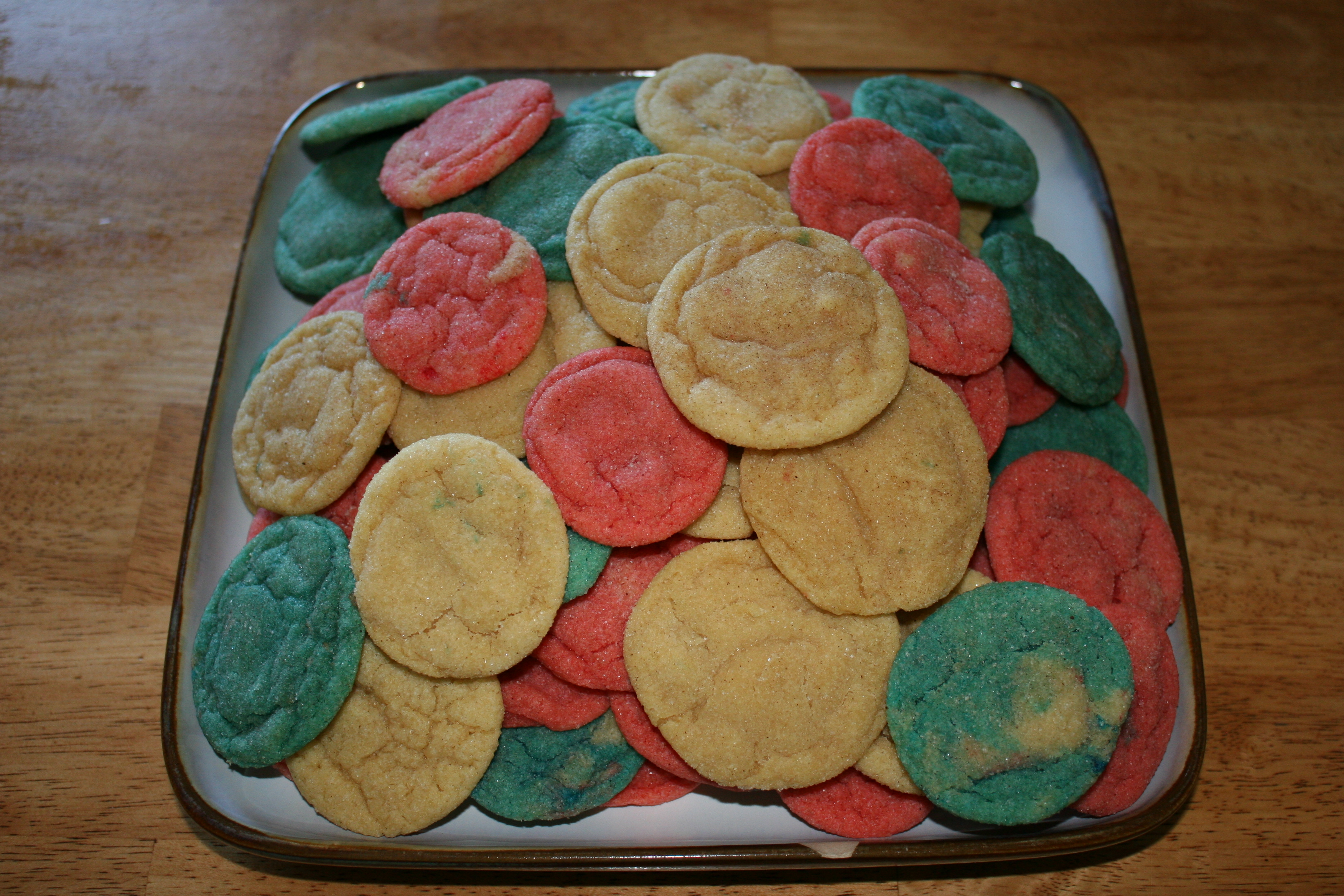 red, white, and blue cookies » living peacefully with children