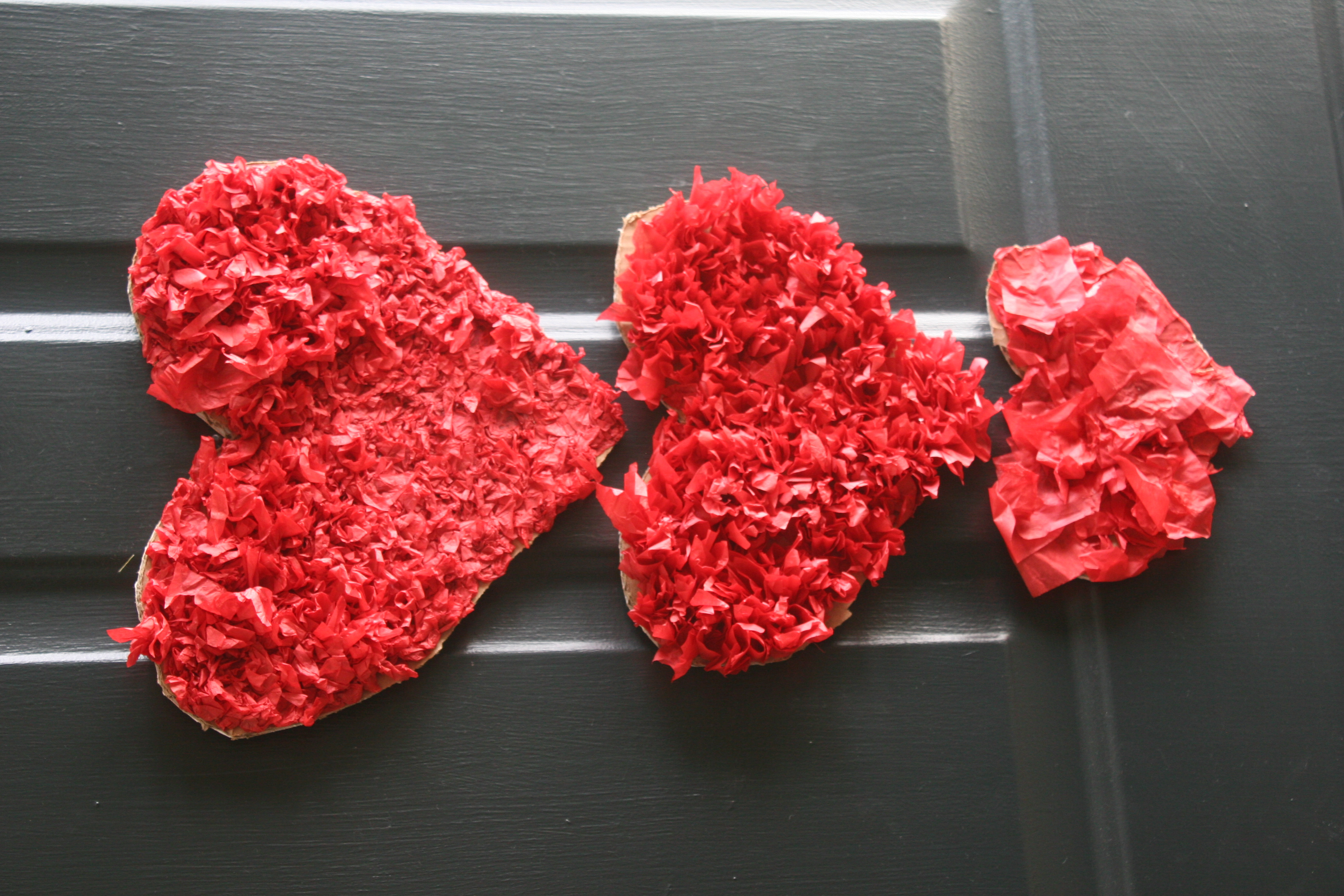Tissue Paper Hearts » Living Peacefully with Children