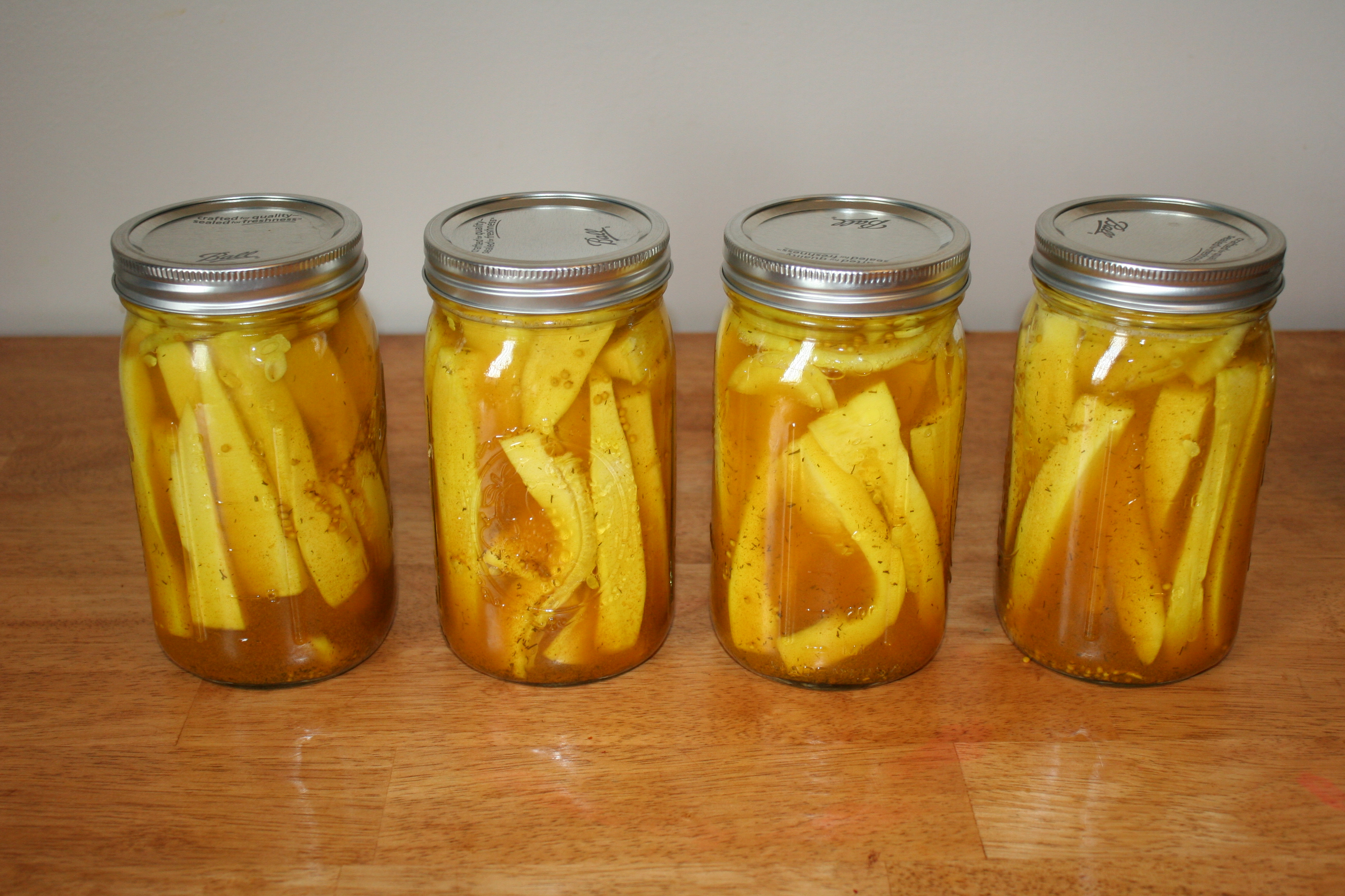 Zucchini Pickles » Living Peacefully with Children