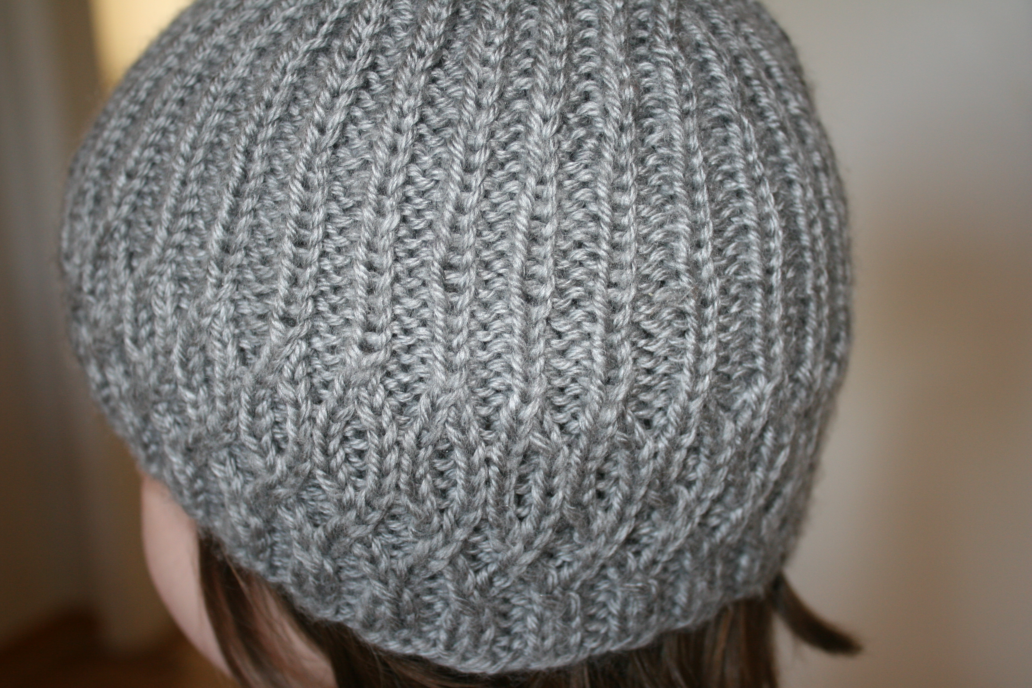 Easy Knit Hat Patterns For Kids : Simple Cable Knit Hat   Living Peacefully with Children